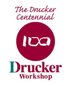 ドラッカー生誕100年ロゴ